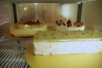 Cassata siciliana e mousse alla crema e al limone – Cassata siciliana and crema and lemon mousses