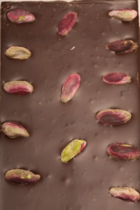 Tavoletta al pistacchio – Chocolate bar with pistachios